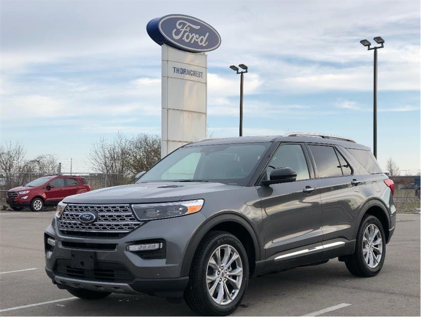 New 2021 Ford Explorer Limited W835