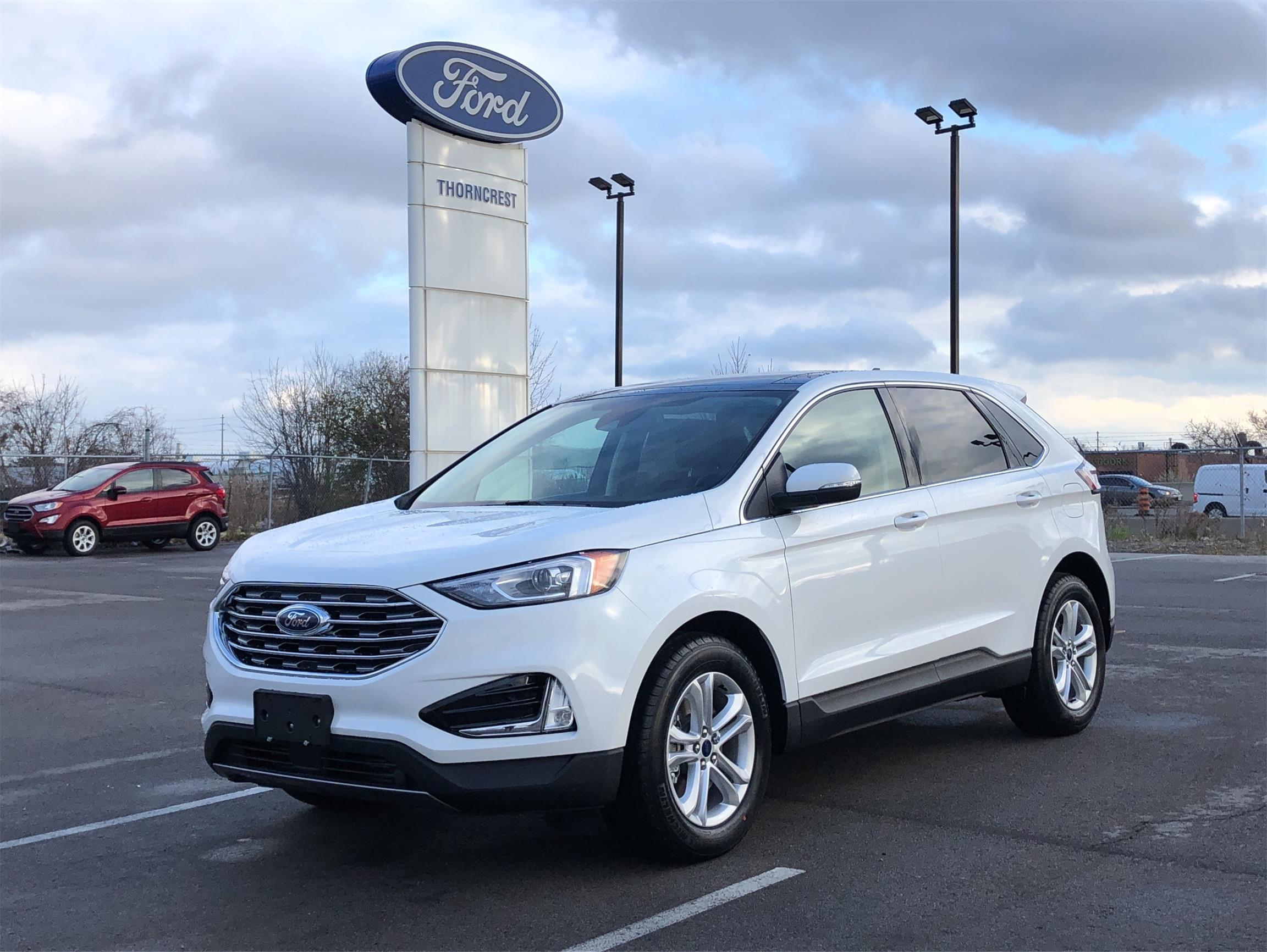 New 2020 Ford Edge SEL W702