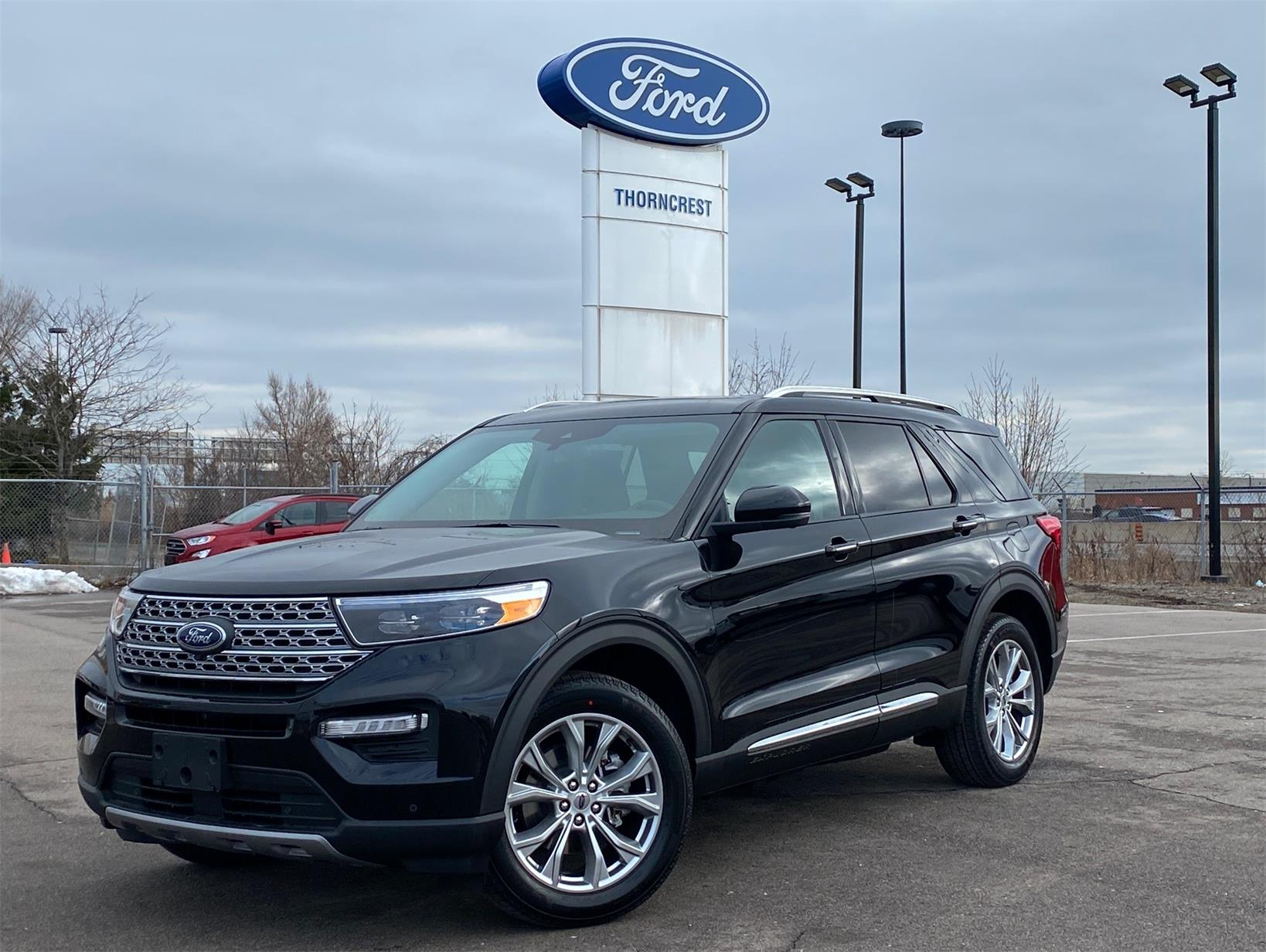 New 2021 Ford Explorer Limited W847