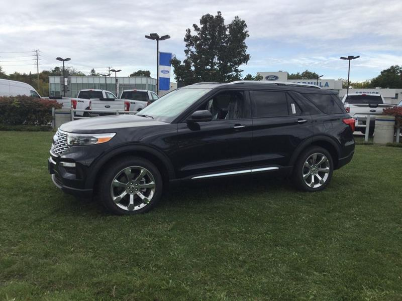 New 2020 Ford Explorer Platinum FN734