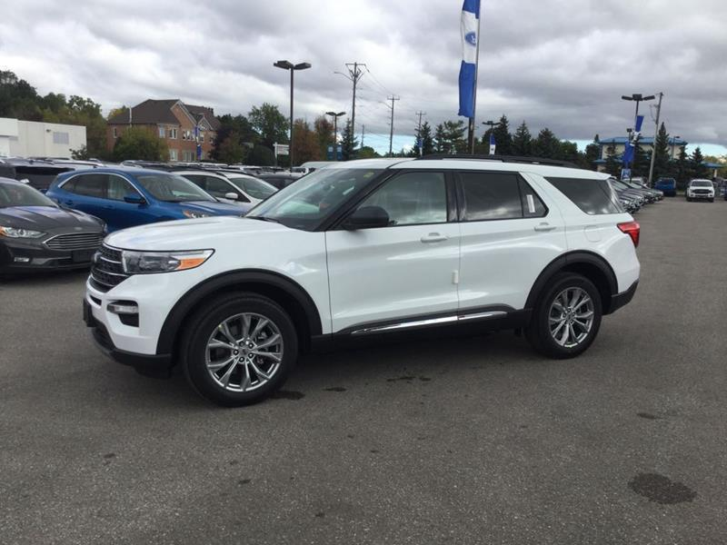 New 2020 Ford Explorer XLT FN751