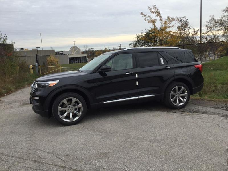 New 2020 Ford Explorer Platinum FN831