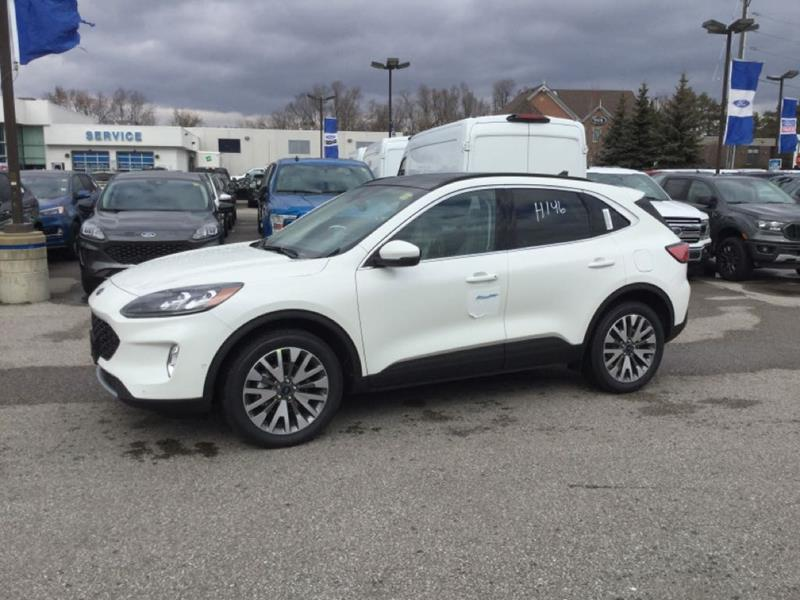 New 2020 Ford Escape Titanium-Hybrid FN2110