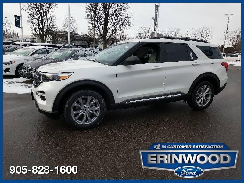 new 2020 Ford Explorer car, priced at $53,024
