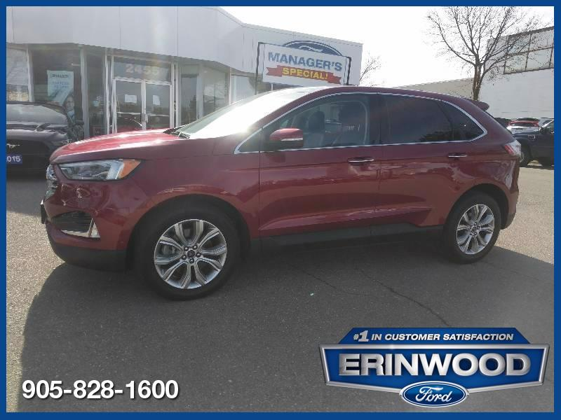 used 2019 Ford Edge car, priced at $32,139