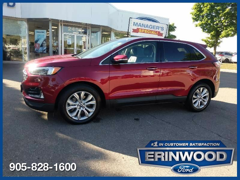 used 2019 Ford Edge car, priced at $36,998