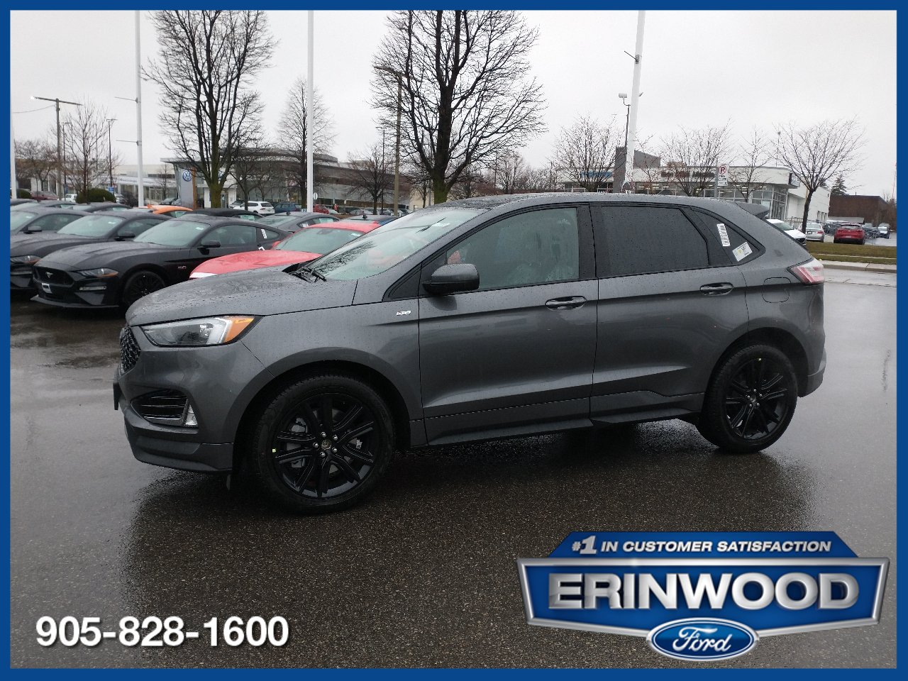 new 2021 Ford Edge car, priced at $44,919