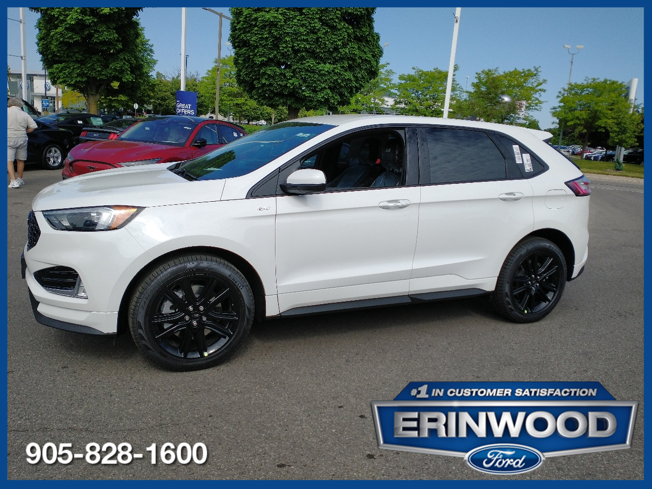 new 2021 Ford Edge car, priced at $46,924