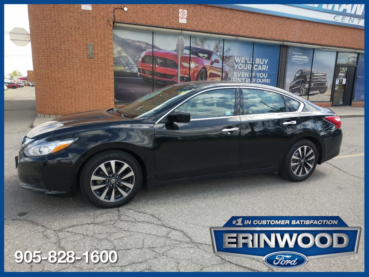 used 2017 Nissan Altima car, priced at $15,246