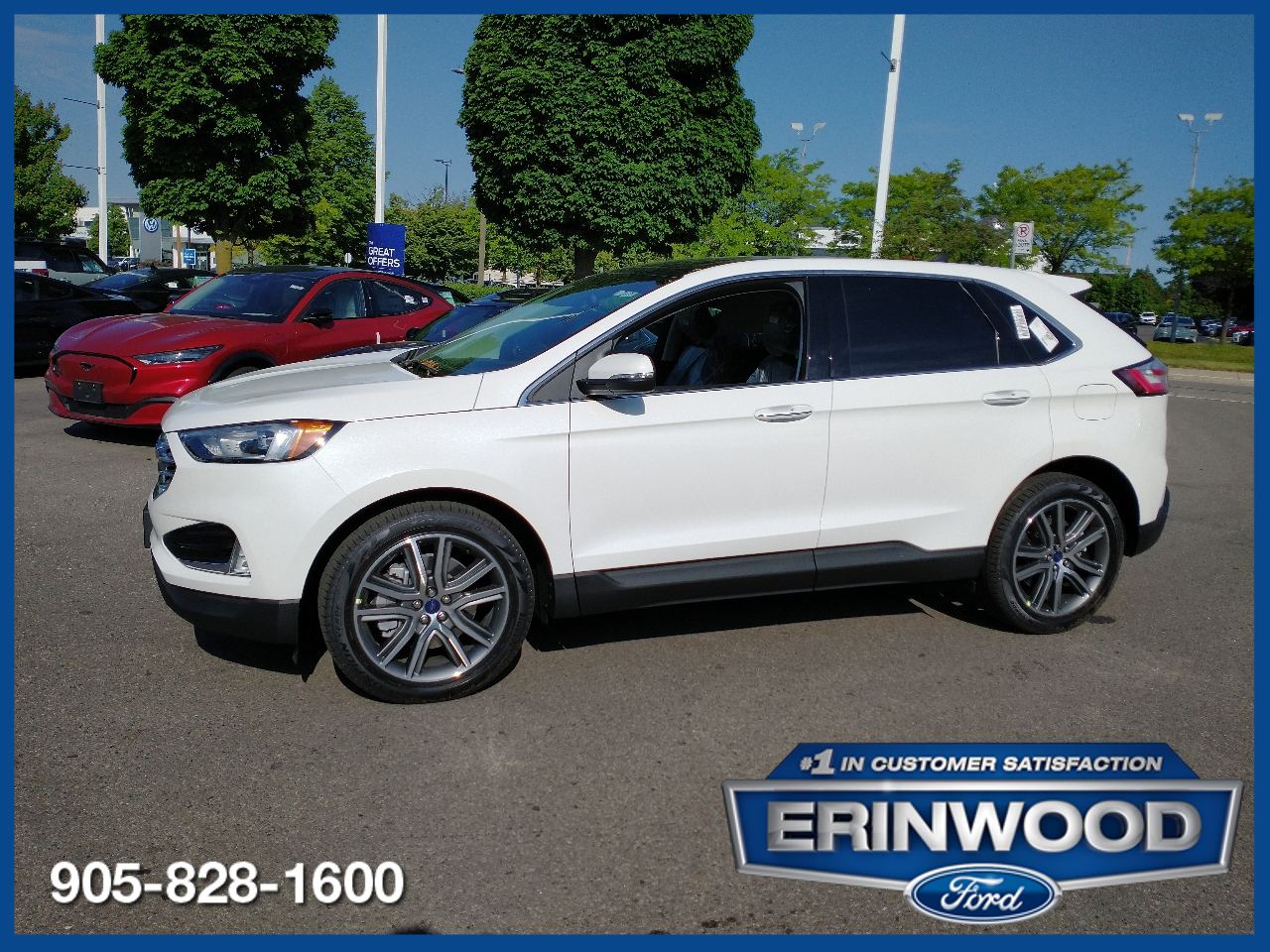 new 2021 Ford Edge car, priced at $49,761