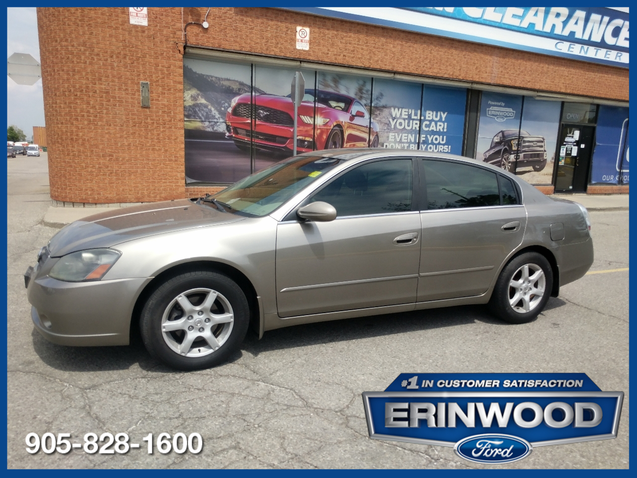 used 2006 Nissan Altima car, priced at $2,446