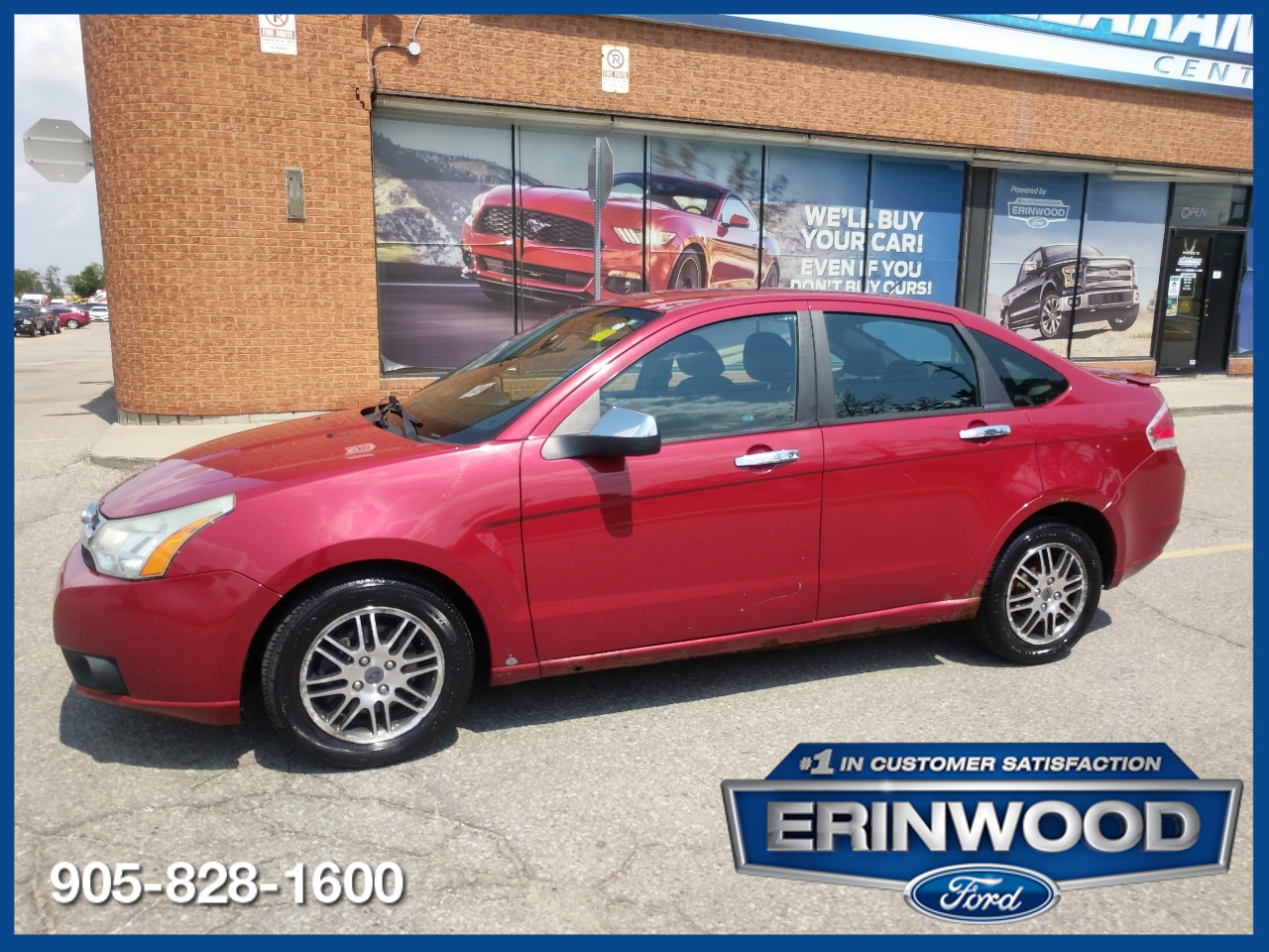 used 2011 Ford Focus car, priced at $2,995