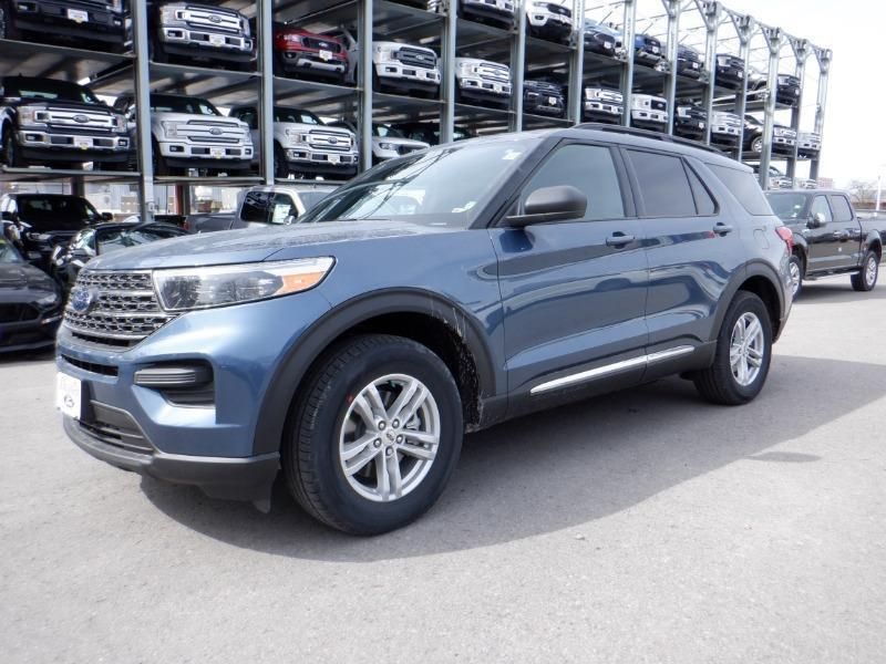 new 2020 Ford Explorer car, priced at $44,749
