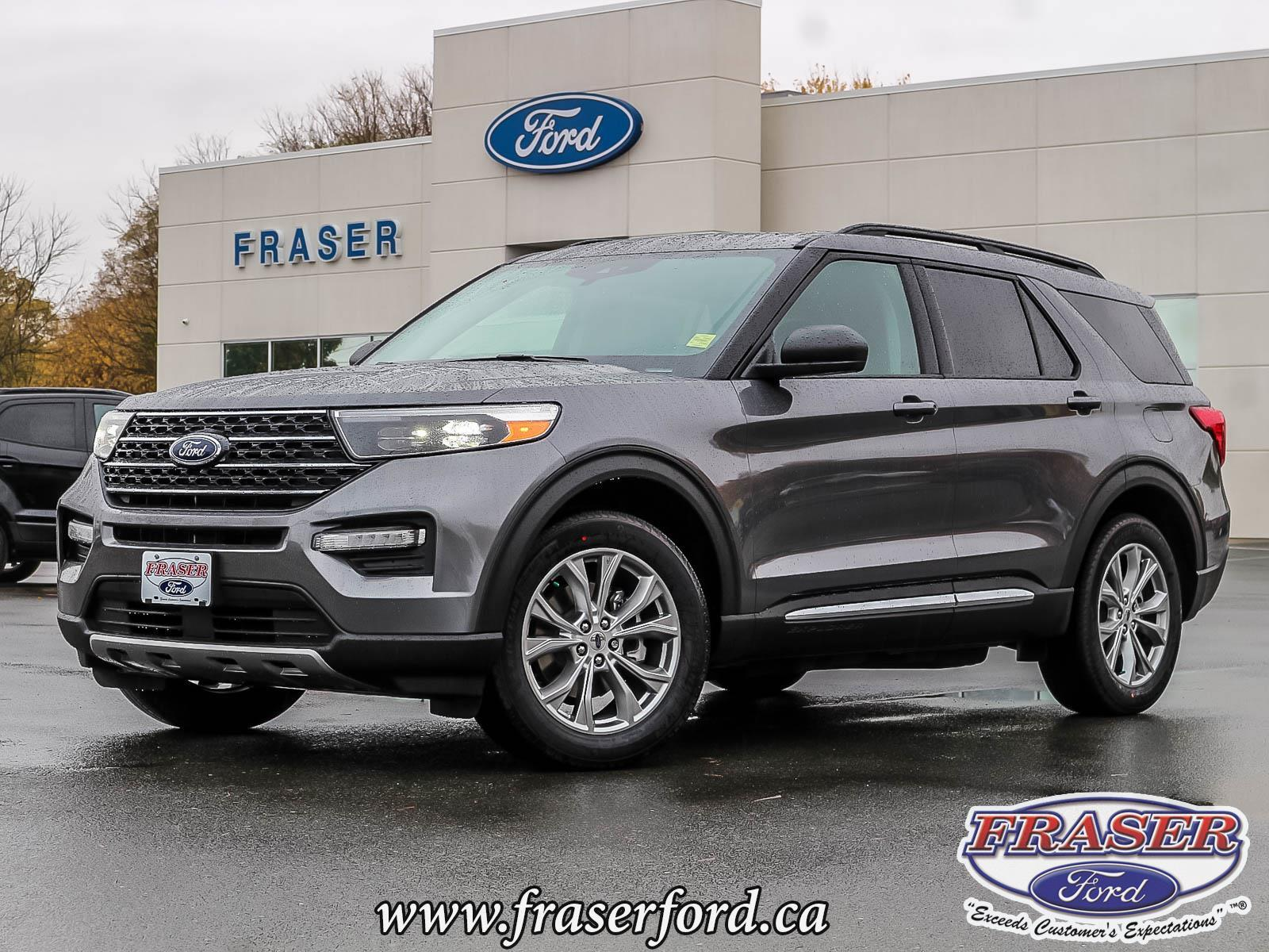 new 2021 Ford Explorer car, priced at $54,149