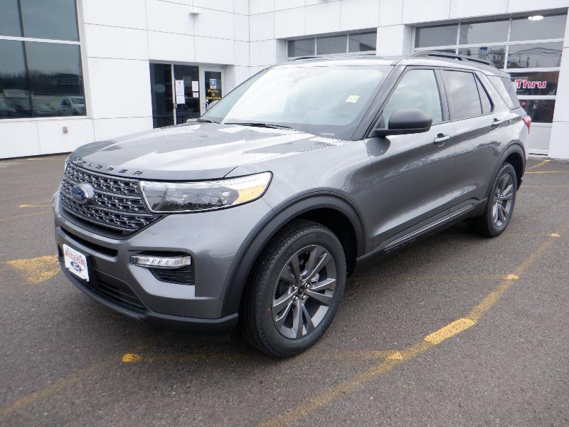 new 2021 Ford Explorer car, priced at $52,399