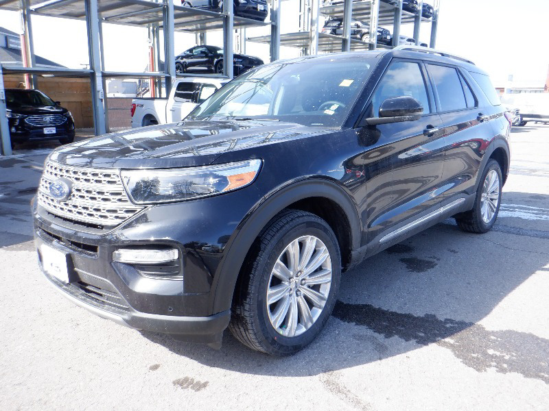 new 2021 Ford Explorer car, priced at $55,649