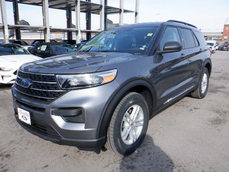 new 2021 Ford Explorer car, priced at $48,649