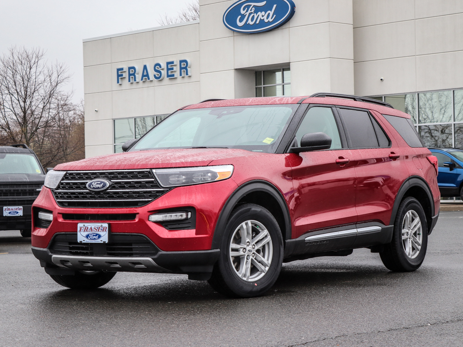 new 2021 Ford Explorer car, priced at $52,949