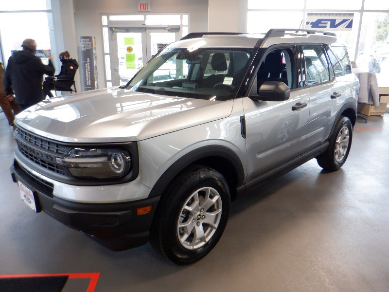 new 2021 Ford Bronco Sport car, priced at $34,399