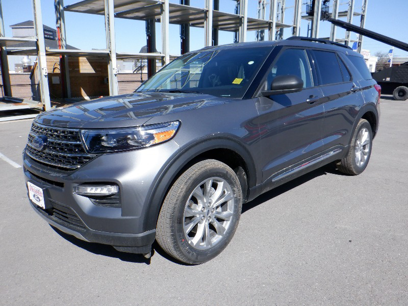 new 2021 Ford Explorer car, priced at $53,049