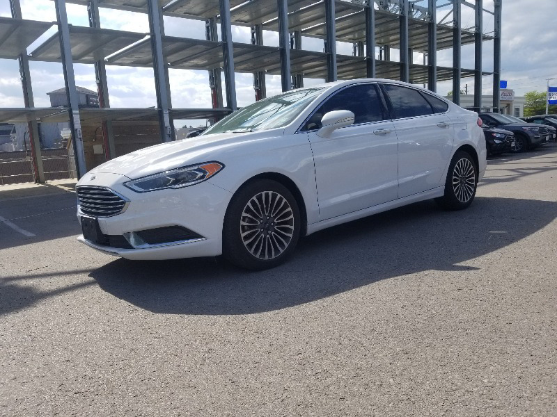used 2018 Ford Fusion car, priced at $16,395