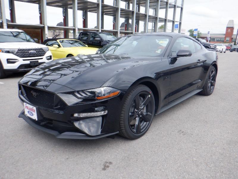 new 2021 Ford Mustang car, priced at $58,510