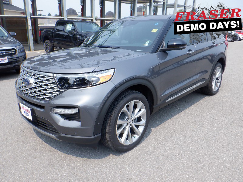 new 2021 Ford Explorer car, priced at $65,149