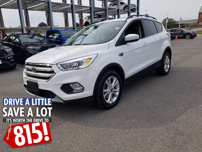used 2018 Ford Escape car, priced at $21,815
