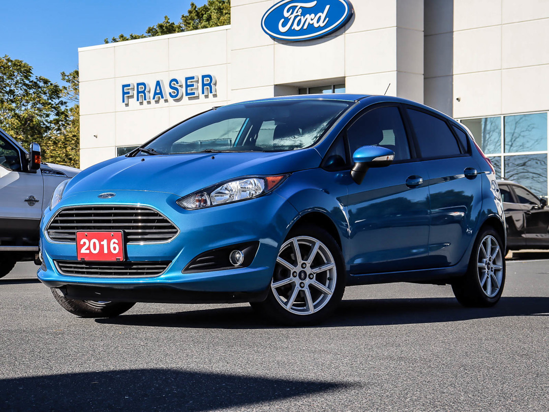 used 2016 Ford Fiesta car, priced at $8,499