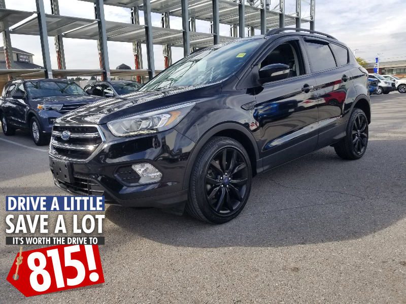 used 2017 Ford Escape car, priced at $25,815