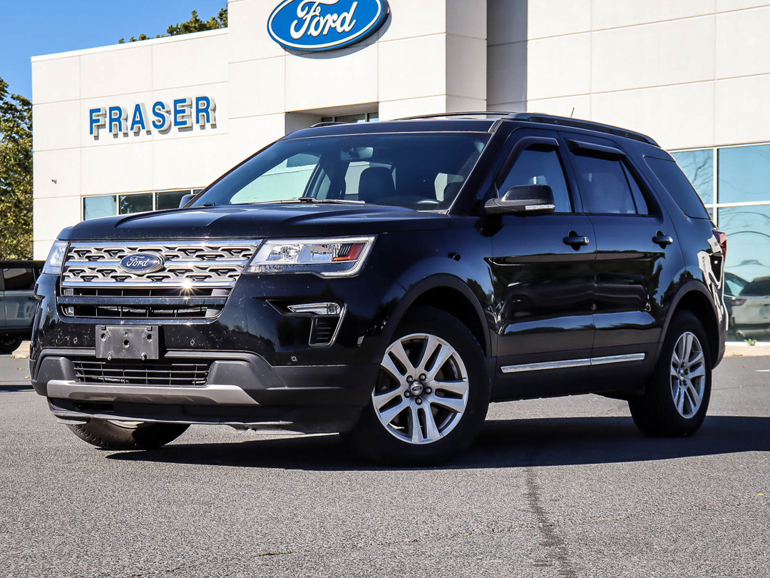 used 2018 Ford Explorer car